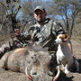 Dan Wallace and his Warthog